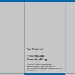 Konsolidierte Neuaufstellung. Forschung, Wissenstransfer und Nachwuchsförderung am Institut für Hochschulforschung Halle‐Wittenberg