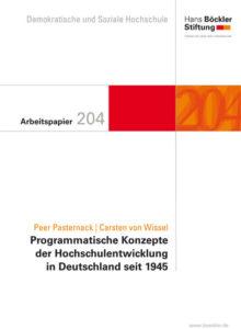 Programmatische Konzepte der Hochschulentwicklung in Deutschland seit 1945