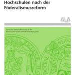 Hochschulen nach der Föderalismusreform