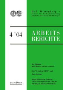 """Die """"Gelehrte DDR"""" und ihre Akteure. Inhalte, Motivationen, Strategien: Die DDR als Gegenstand von Lehre und Forschung an deutschen Universitäten"""