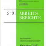 Gelehrte DDR. Die DDR als Gegenstand der Lehre an deutschen Universitäten 1990–2000