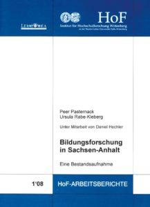 Bildungsforschung in Sachsen-Anhalt. Eine Bestandsaufnahme
