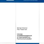Internes Qualitätsmanagement im österreichischen Fachhochschulsektor
