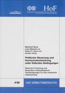 Politische Steuerung und Hochschulentwicklung unter föderalen Bedingungen