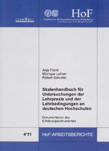 Skalenhandbuch für Untersuchungen der Lehrpraxis und der Lehrbedingungen an deutschen Hochschulen