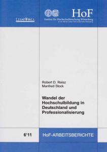 Wandel der Hochschulbildung in Deutschland und Professionalisierung