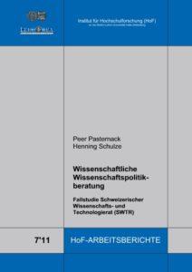 Wissenschaftliche Wissenschaftspolitikberatung. Fallstudie Schweizerischer Wissenschafts- und Technologierat (SWTR)