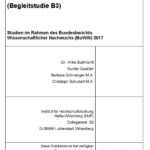 Förderlandschaft und Promotionsformen (B3)
