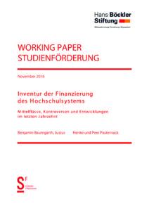 Inventur der Finanzierung des Hochschulsystems. Mittelvolumina und Mittelflüsse im deutschen Hochschulsystem