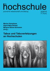 Tabus und Tabuverletzungen an Hochschulen