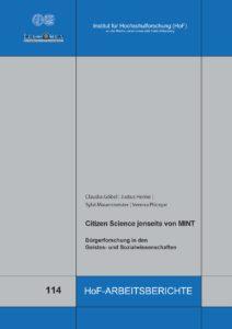 Citizen Science jenseits von MINT – Bürgerforschung in den Geistes- und Sozialwissenschaften