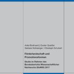 Förderlandschaft und Promotionsformen (B3). Studie im Rahmen des Bundesberichts Wissenschaftlicher Nachwuchs (BuWiN) 2017
