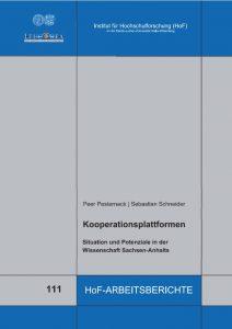 Kooperationsplattformen: Situation und Potenziale in der Wissenschaft Sachsen-Anhalts