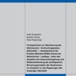 Fachgutachten zur Neufassung des Sächsischen Hochschulgesetzes (SächsHG)