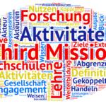 """Themenkonferenz """"Die Vermessung der Third Mission"""" 27.-28.9.2016"""